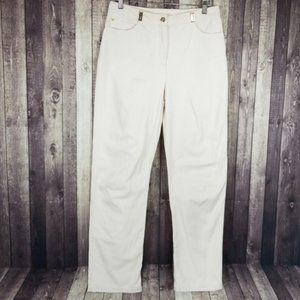St John Sport Essentials cream trouser dress pants